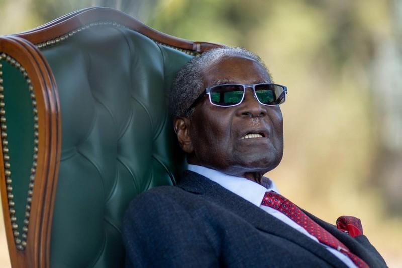 Ông Robert Mugabe - cựu Tổng thống Zimbabwe đến Singapore điều trị từ tháng 4 và qua đời ngày 6-9. Ảnh: EPA