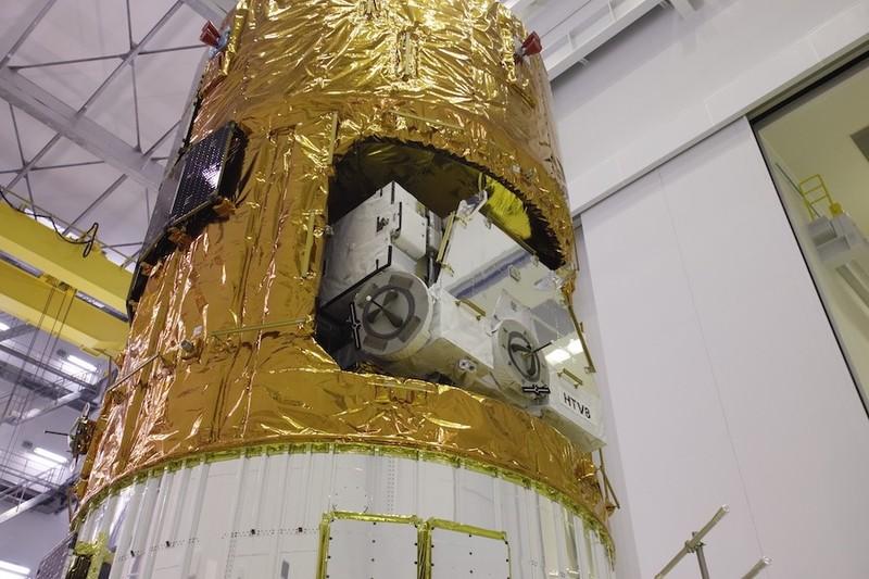 Tàu vận tải vũ trụ Kounotori 8 được phóng ngày 10-9 tại Trung tâm Không gian Tanegashima ở tỉnh Kagoshima (Nhật). Ảnh: JAXA