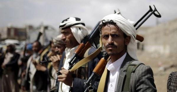Các tay súng Houthi. Ảnh: WSJ