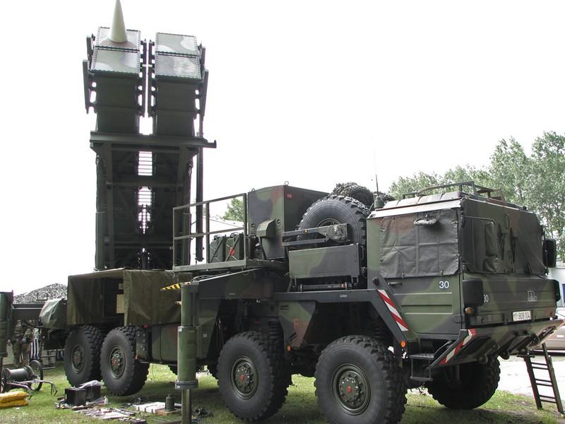 Tên lửa phòng không Patriot của Mỹ. Ảnh: WIKIPEDIA