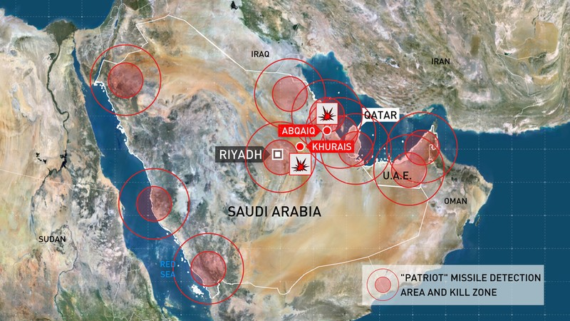 Mỹ đưa tên lửa hành trình Tomahawk đến Saudi Arabia - ảnh 3