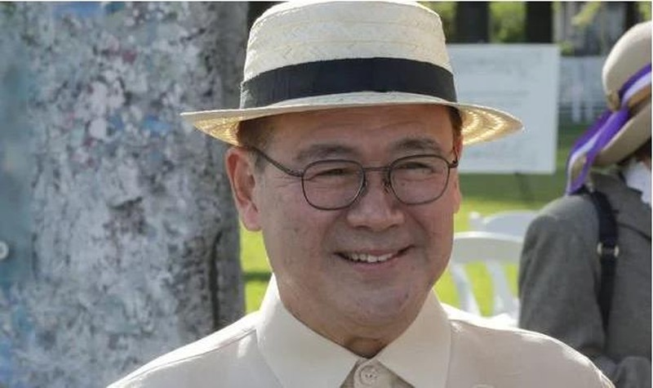 Ông Teodoro Locsin Jr – Ngoại trưởng Philippines không ủng hộ đưa phán quyết biển Đông ra thách thức Trung Quốc lúc này. Ảnh: GETTY IMAGES