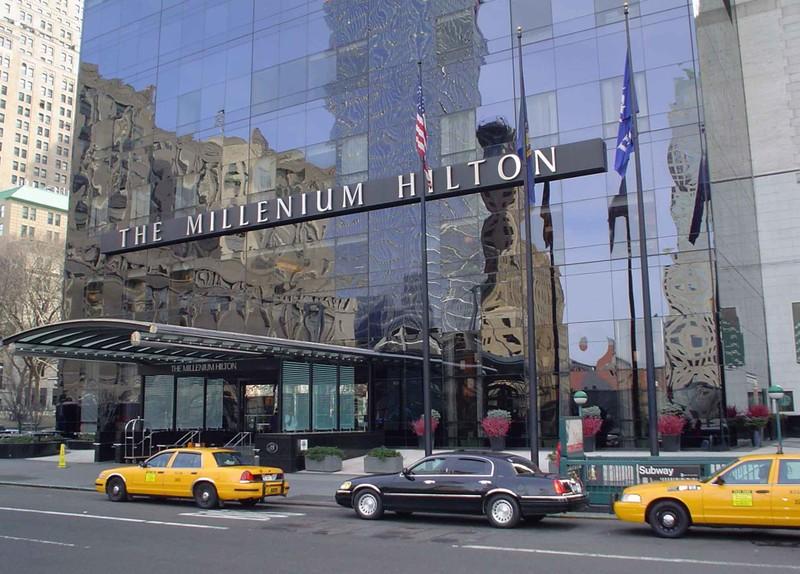 Khách sạn Millennium Hilton- nơi Tổng thống Iran Hassan Rouhani ở tuần trước. Ảnh: DOWTOWN MAGAZINE