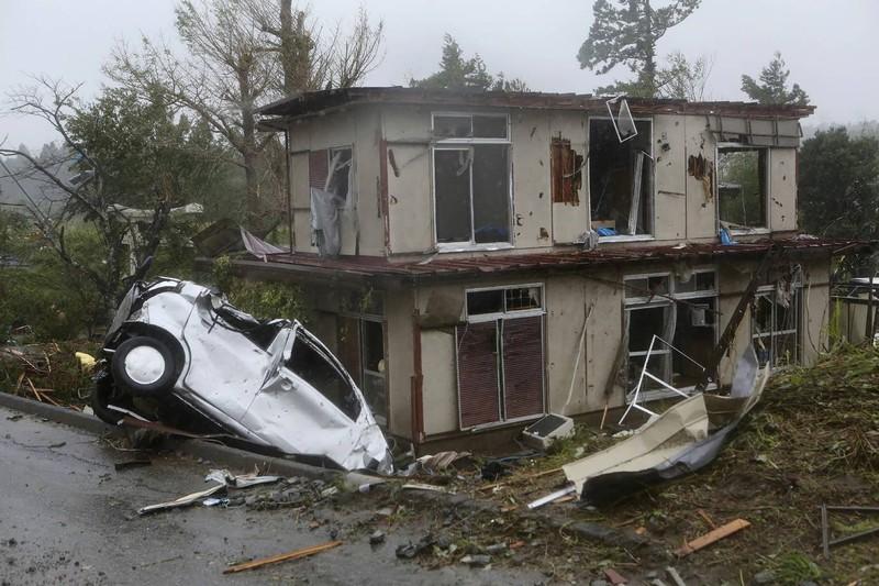 Hình ảnh bão Hagibis tàn phá Nhật trước khi quay ra biển TBD - ảnh 6