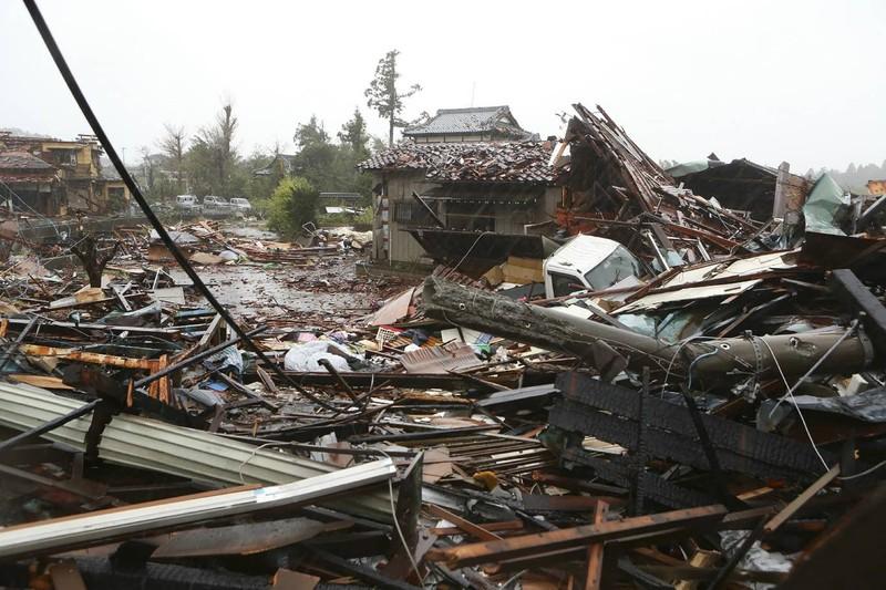 Hình ảnh bão Hagibis tàn phá Nhật trước khi quay ra biển TBD - ảnh 4