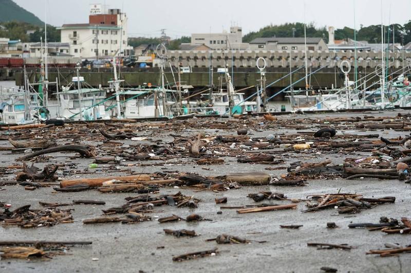 Hình ảnh bão Hagibis tàn phá Nhật trước khi quay ra biển TBD - ảnh 5
