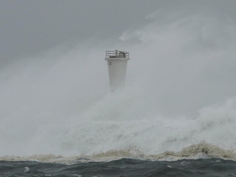 Hình ảnh bão Hagibis tàn phá Nhật trước khi quay ra biển TBD - ảnh 9