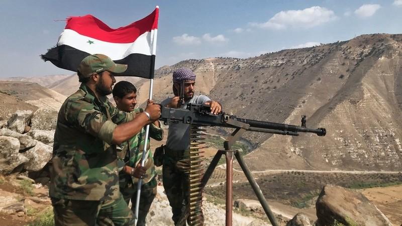 Quân chính phủ Syria. Ảnh: SPUTNIK