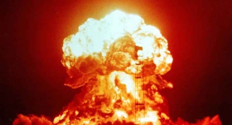 Sức công phá của quả bom nhiệt hạch H mà Triều Tiên thử năm 2017 mạnh gấp 17 lần so với quả bom hạt nhân mà Mỹ đã thả xuống TP Hiroshima của Nhật tháng 8-1945. Ảnh minh họa từ CCTBO