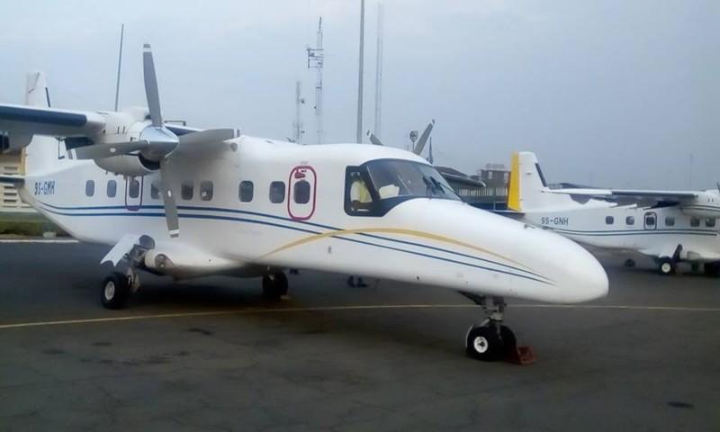 Máy bay của Hãng hàng không Busy Bee – chủ sở hữu chiếc máy bay bị nạn. Ảnh: TWITTER