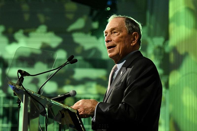 Tỉ phú Michael Bloomberg chính thức tranh cử tổng thống Mỹ năm 2020. Ảnh: GETTY IMAGES