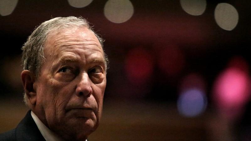Ông Michael Bloomberg phát biểu tại Brooklyn, New York ngày 17-11. Ảnh: VCG