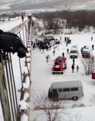Xe buýt lọt cầu rơi xuống sông băng, 19 người chết thảm - ảnh 2