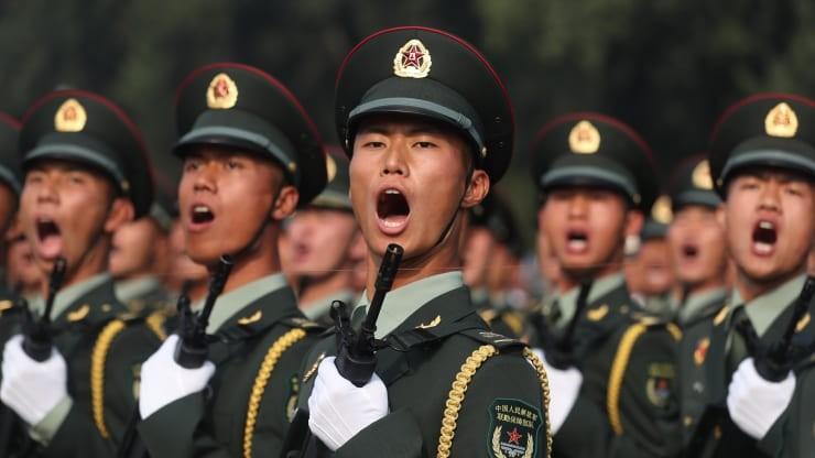 Sức mạnh quân sự Trung Quốc là một chủ đề được bàn đến trong hội nghị thượng đỉnh NATO lần này. Ảnh: GETTY IMAGES