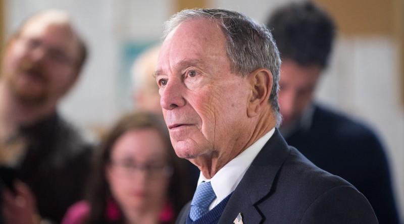 Ứng viên Dân chủ Michael Bloomberg từng có thời gian dài tham gia đảng Cộng hòa. Ảnh: JTA