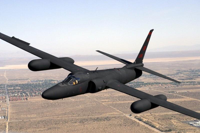 Máy bay do thám U-2 của Không quân Mỹ thường xuyên tuần tra trên vùng trời biển Đông. Ảnh: LOCKHEED MARTIN