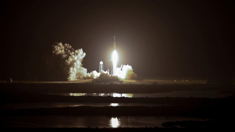 Tên lửa SpaceX Falcon được phóng trong chiến dịch phóng thứ 2 của Chương trình Thử nghiệm Không gian của Không quân Mỹ, ngày 25-6-2019. Ảnh: REUTERS