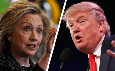 Ứng viên Dân chủ Hillary Clinton phải nhường bước trước ứng viên Cộng hòa Donald Trump vì thua số phiếu Đại cử tri, dù thắng số phiếu phổ thông. Ảnh: AP