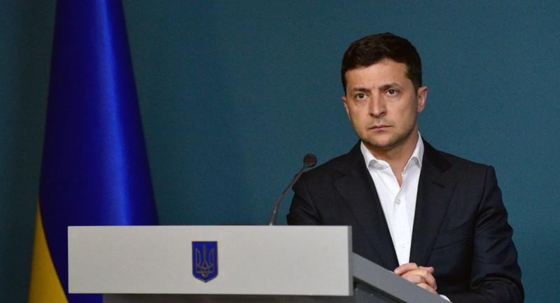 Tổng thống Ukraine Volodymyr Zelensky cho biết phần đầu tiên của hiệp ước Normandy đã được thực hiện thành công. Ảnh: SPUTNIK