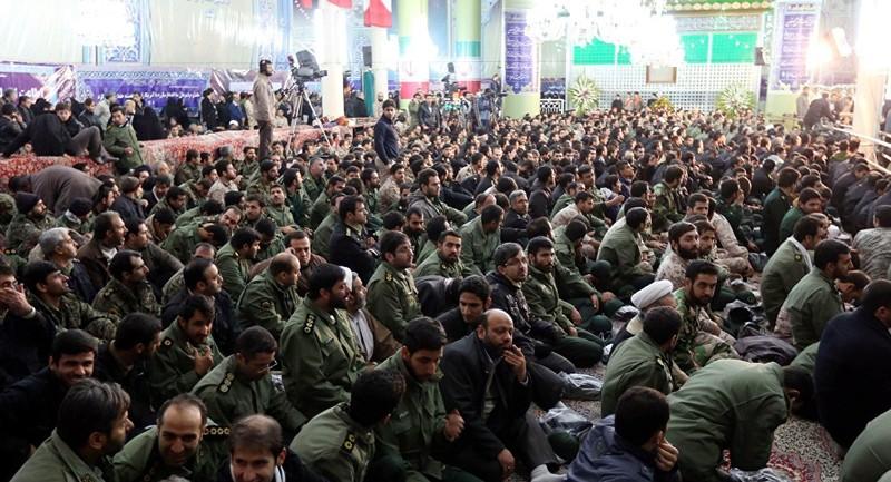 Quân đoàn Vệ binh Cách mạng Hồi giáo Iran xác nhận đã nã hàng chục quả tên lửa vào căn cứ Ayn al-Asad của Mỹ. Ảnh: SPUTNIK