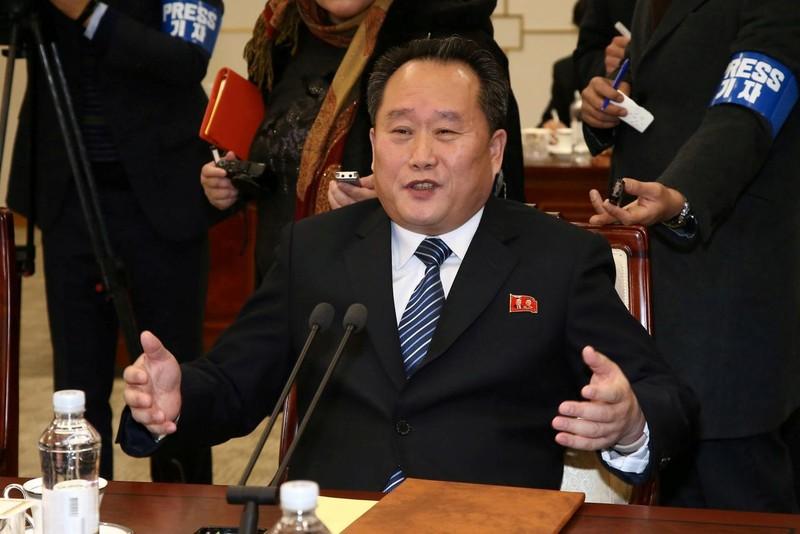 Nhân vật được chọn làm Bộ trưởng Ngoại giao mới của Triều Tiên là Ri Son-gwon. Ảnh: AP
