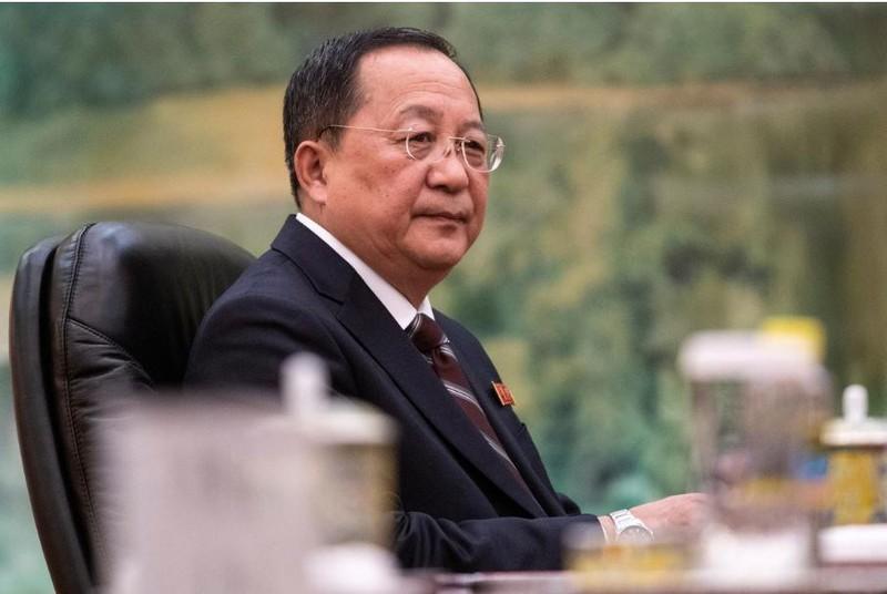 Triều Tiên vừa thay vị trí Bộ trưởng Ngoại giao Triều Tiên của ông Ri Yong-ho (ảnh). Ảnh: REUTERS