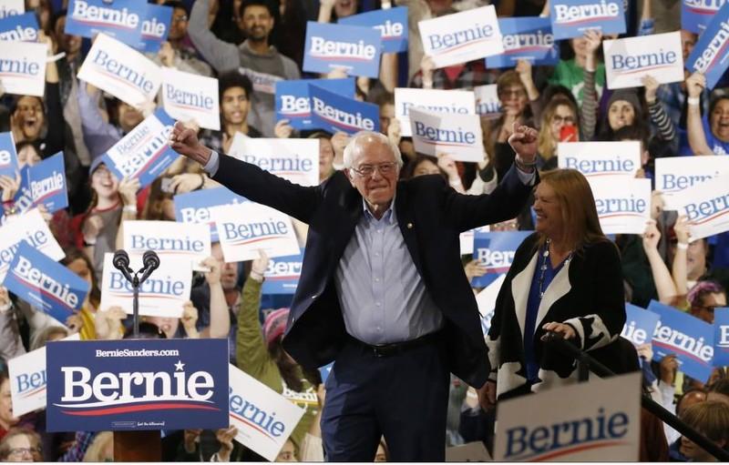 Siêu thứ Ba: Thắng 9 bang, ông Biden dẫn trước ông Sanders  - ảnh 3