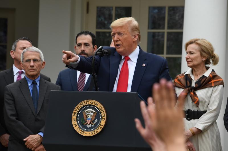 Ông Trump nói sẽ đi xét nghiệm COVID-19 sớm - ảnh 1