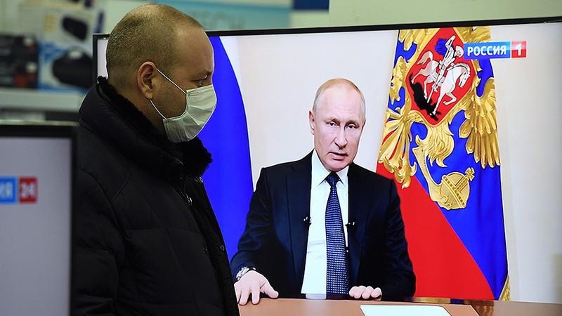 COVID-19: Ông Putin vạch giải cứu khẩn cấp, hoãn bầu Hiến pháp - ảnh 1