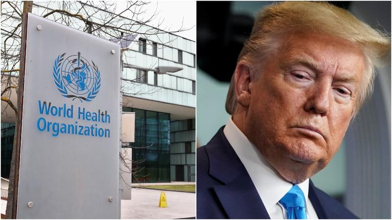 Ông Trump đặt câu hỏi quan hệ WHO với Trung Quốc, dọa cắt tiền - ảnh 1