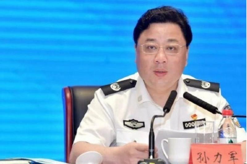 Thứ trưởng Công an Trung Quốc Tôn Lực Quân bị điều tra - ảnh 1
