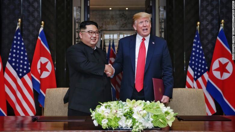Ông Trump nói gì về đồn đoán sức khỏe của ông Kim? - ảnh 1