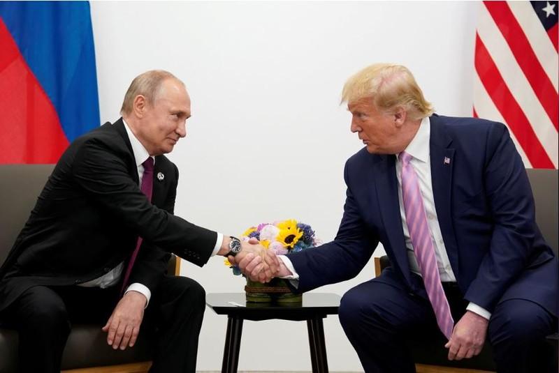 Ông Trump và ông Putin cùng ra tuyên bố chung hiếm hoi - ảnh 1