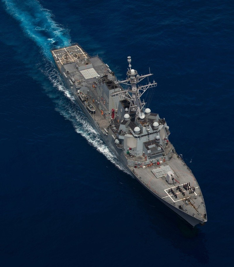 Tàu khu trục Mỹ xuất hiện ngoài bờ biển Thượng Hải - ảnh 2