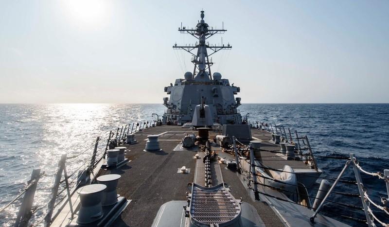 Tàu khu trục Mỹ xuất hiện ngoài bờ biển Thượng Hải - ảnh 4