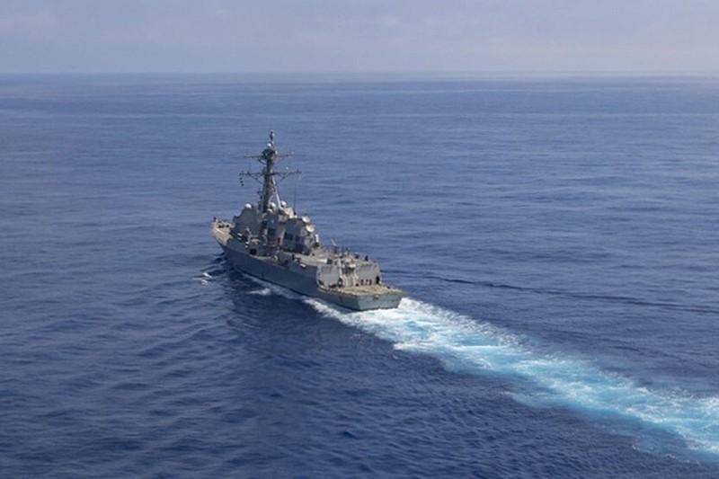 Tàu khu trục Mỹ xuất hiện ngoài bờ biển Thượng Hải - ảnh 3