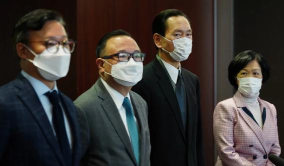 Giới chính trị gia Hong Kong đổ lỗi nhau vụ Mỹ dọa rắn tay - ảnh 3