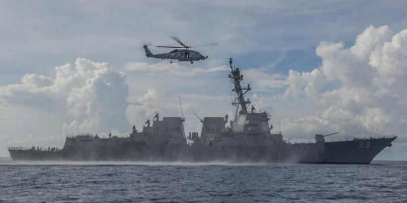 Mỹ đưa tàu đến gần đảo Phú Lâm và đá Tháp - ảnh 1