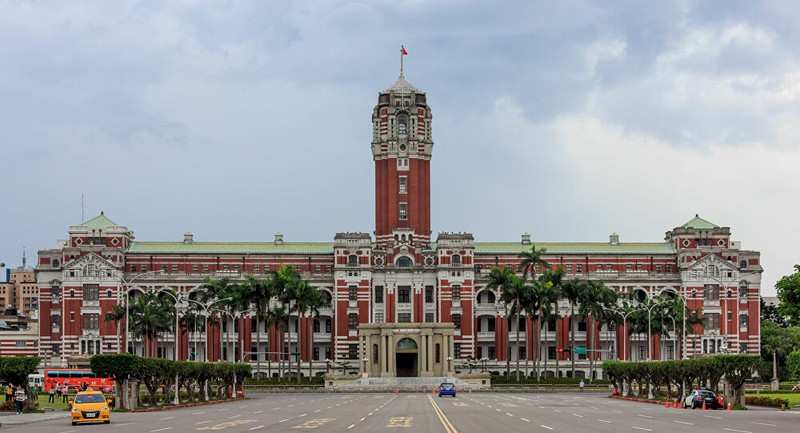 Quân đội Trung Quốc dựng dinh lãnh đạo Đài Loan để tập trận - ảnh 3