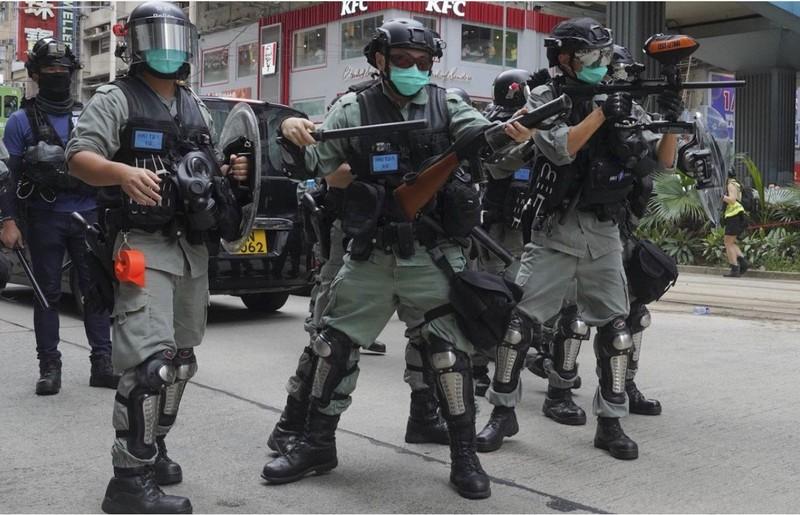 Trung Quốc: Chặn được Mỹ, Anh đưa vụ Hong Kong ra LHQ - ảnh 1