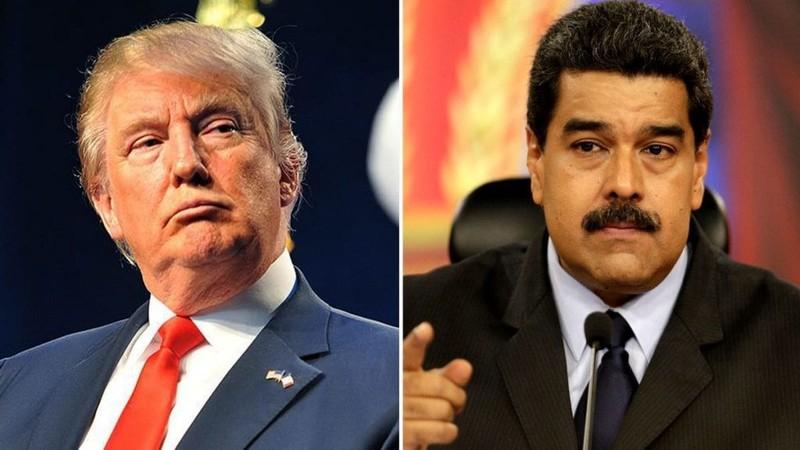 Ông Trump phát tín hiệu ấm với ông Maduro, lạnh với ông Guaido - ảnh 1