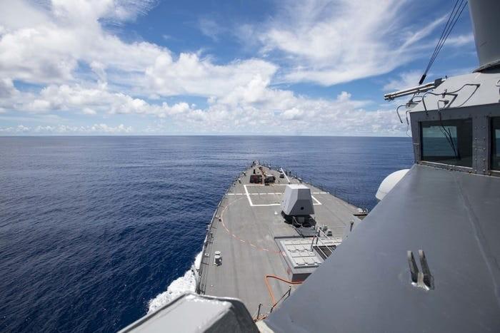 Mỹ điều tàu đến Trường Sa, không để Trung Quốc chiếm Biển Đông - ảnh 1