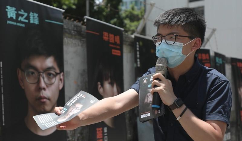 Hoàng Chi Phong bị loại tư cách tranh cử hội đồng lập pháp - ảnh 1