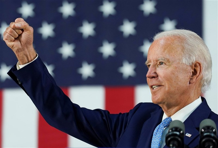 Ông Biden không thể đi nhận đề cử đảng Dân chủ, vì COVID-19 - ảnh 1