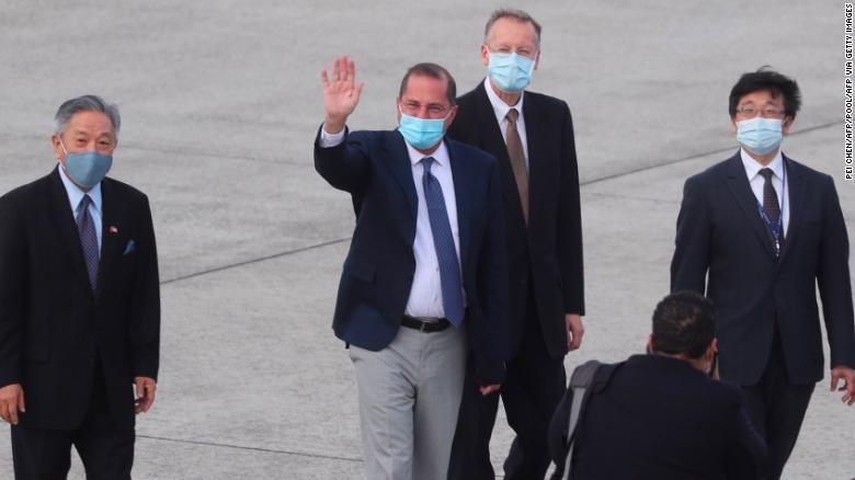 Bộ trưởng Mỹ gặp lãnh đạo Đài Loan Thái Anh Văn - ảnh 2