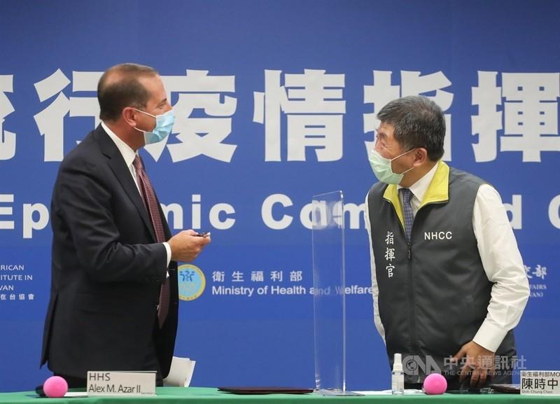 Chưa rõ khi nào Bộ trưởng Mỹ rời Đài Loan - ảnh 1