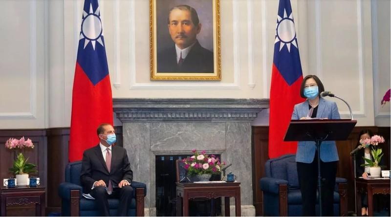 Bộ trưởng Mỹ sang thăm - cơ hội và áp lực của Đài Loan - ảnh 1