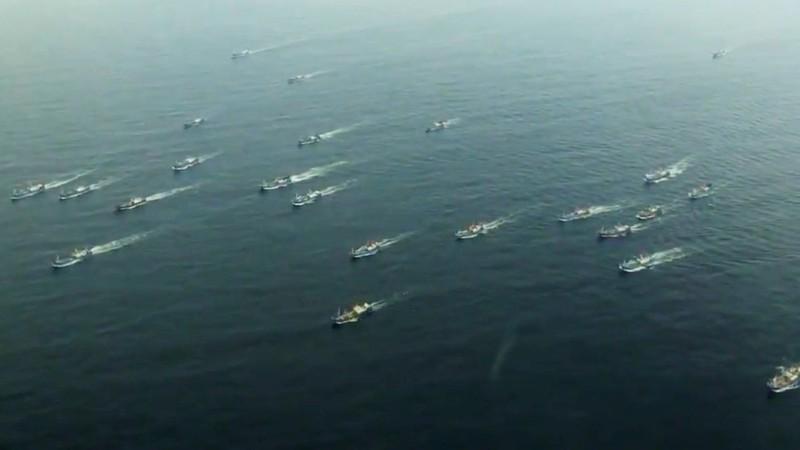 Trung Quốc tung trái phép tàu cá ra Trường Sa, Hoàng Sa - ảnh 1