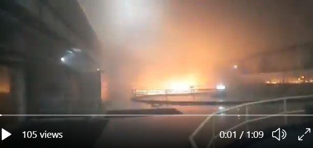 Nổ cháy đập thủy điện, 9 công nhân mắc kẹt - ảnh 2