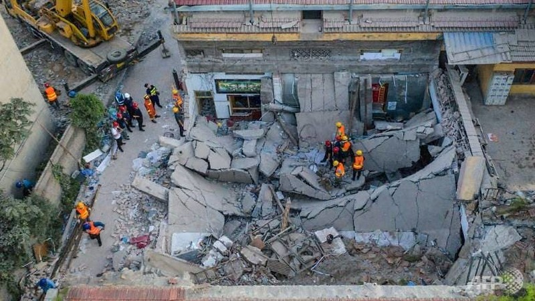 Sập nhà hàng, 29 người chết, 28 người bị thương - ảnh 1